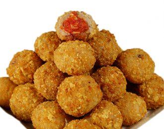 Gluten Free Chicken Parma Balls