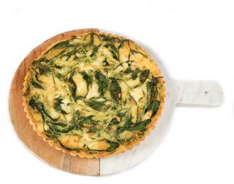 Gluten Free Spinach & Feta Quiche