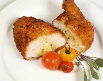 Gluten Free Chicken Kievs with Herb Butter