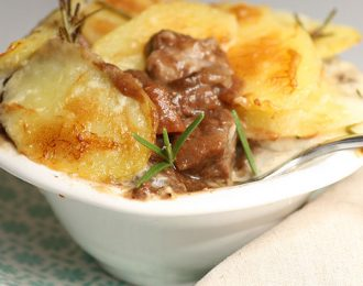 Beef in Red Wine with Potato