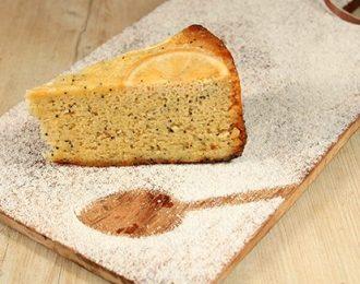 Gluten Free Lemon & Poppyseed Cake