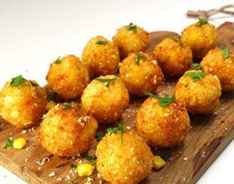 Gluten Free Corn & Chive Risotto Balls (20)