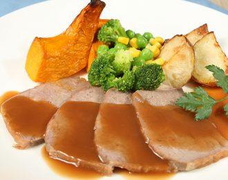 Roast Beef & Vegetables