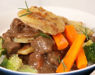 Peppered Beef with veggies