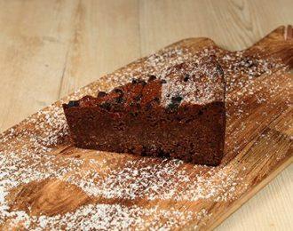 Gluten Free Chocolate Raspberry Cake Slice