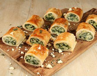 Spinach & Ricotta Sausage Rolls (12)