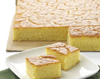 Lemon Drizzle Tray Cake