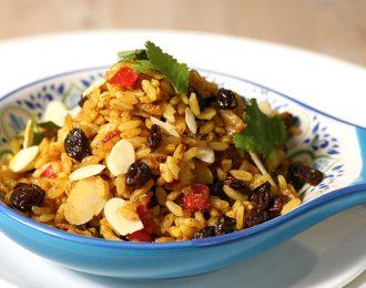 Vegan Persian Rice